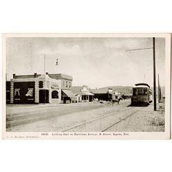 Sparks Street Car Postcard, C A Beemer Publisher