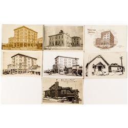 Photo Postcards of Tonopah Buildings