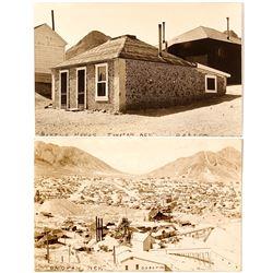 Tonopah Real Photo Postcards #1