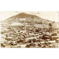 Tonopah Town View Real Photo Postcard #2