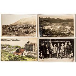 Four Nicer Virginia City Postcards
