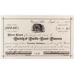 Virginia City Promissory Note