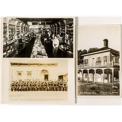 Virginia City Real Photo Postcards