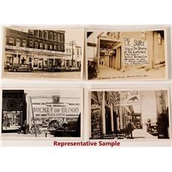 Virginia City Saloon Postcards