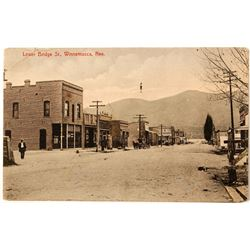 Early Photo Postcard of Horse and Buggy in Winnemucca