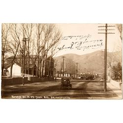 Winnemucca Real Photo Postcard Written in German