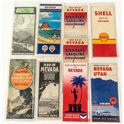 Nine Nevada Maps
