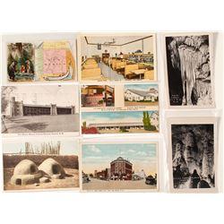 8 New Mexico Postcards