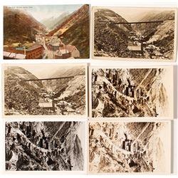 Six Bingham Canyon Cards