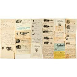 Washington Ephemera Collection (Letterheads, Billheads & More)