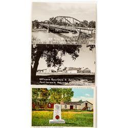 3 Views of Fort Laramie