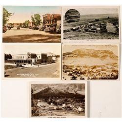 Five Wyoming Postcards