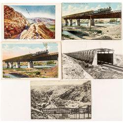 Wyoming Railroad Postcards