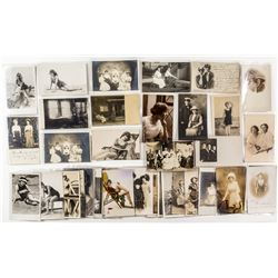 Real Photo Postcard Collection featuring Ladies