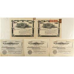 United Gold Mines Company Stocks (incl. Warren Woods signature)