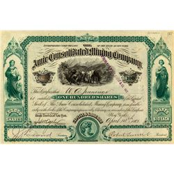 Amie Consolidated Mining Company Stock Certificate