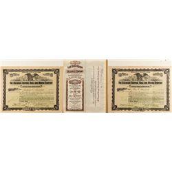 Colorado Coal Company Stock Certificates