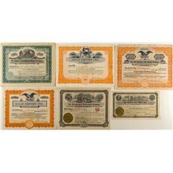 Colorado Gold Mining Stock Certificates (6)