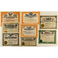 Colorado Gold Mining Stock Certificates (8)