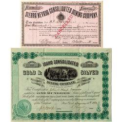 Two Idaho Gold & Silver Stocks