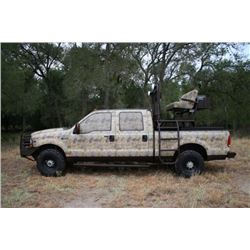 $6,000 CREDIT Towards New Fabrication of Any Type Hunting/Touring Vehicle