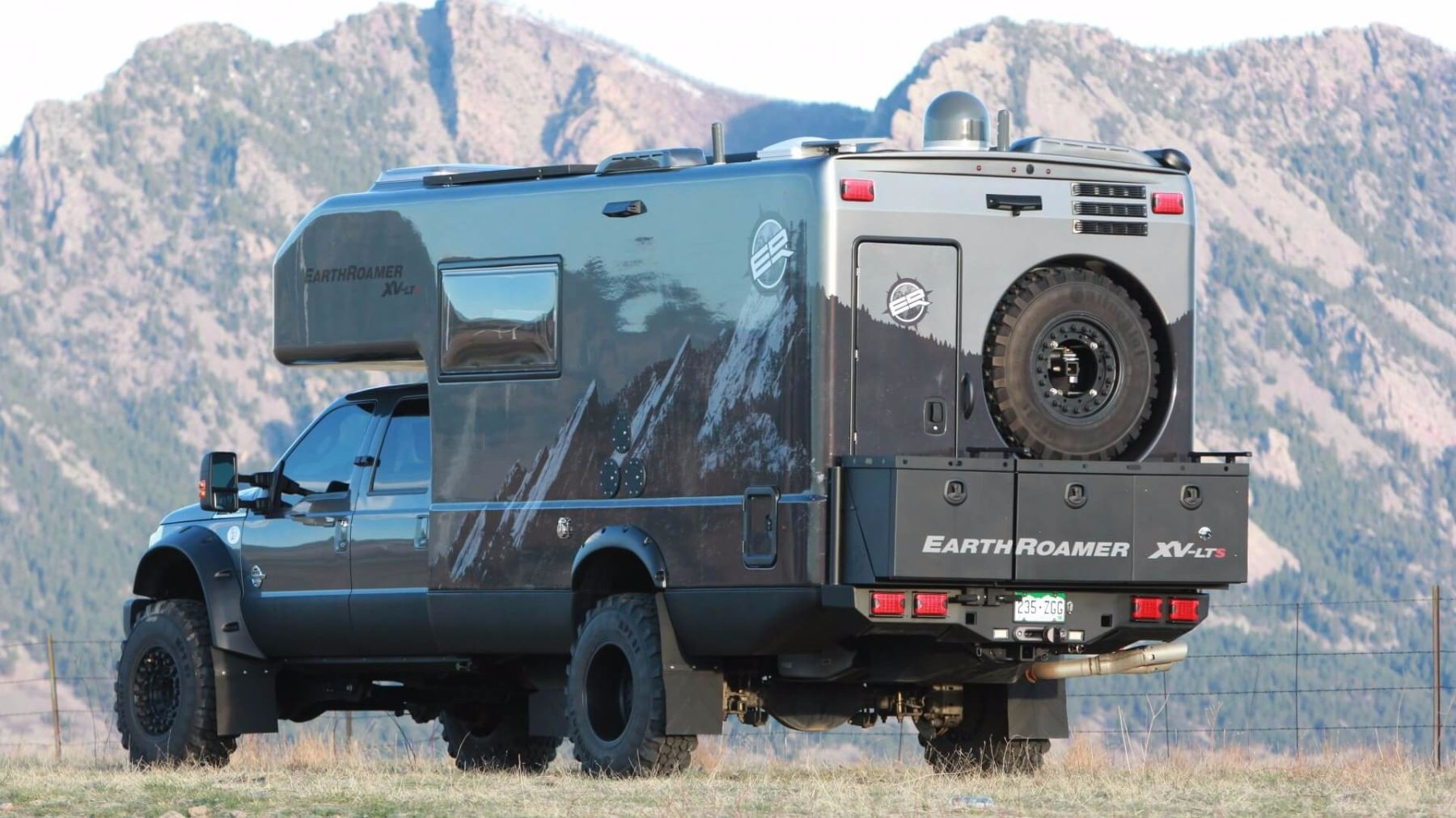 USA Shooting Team and EarthRoamer All Terrain Vehicle Weekend Experience in  Colorado for Four Guests