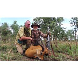 6-Day Kob and Nile Bushbok Hunt for One Hunter and One Non-Hunter in Uganda - Includes Trophy Fees