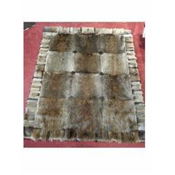 Handmade Beaver Blanket