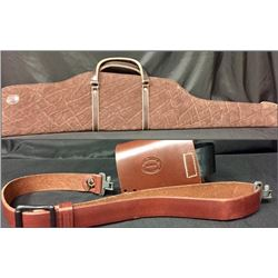 Deluxe Elephant Hide Rifle Case by Murray Custom Leather