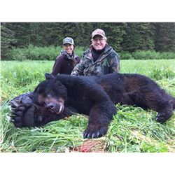 6-Day Alaska Luxury Yacht Coastal Black Bear Hunt for One Hunter - Includes Swarovski & Ruger Packag