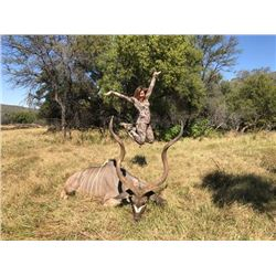 7-day Namibia Plains Game Hunt for One Hunter and One Non-hunter and Guest Hosting an Episode with H