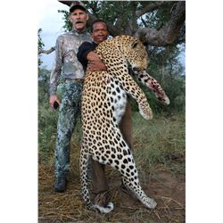 14-day Namibian Leopard Hunt and Taxidermy for One Hunter and One Observer