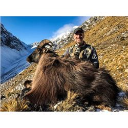 6-day New Zealand Tahr Hunt and Waterfowl and Trout Fishing Trip For two Hunters and Two Observers