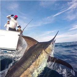3-day/4-night Guatemala Sailfish, Marlin, Yellow-fin Tuna and Mahi-mahi Fishing Trip for Two Anglers