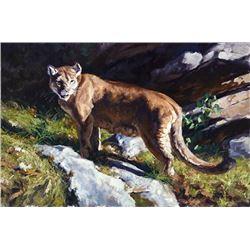 Original Oil on Canvas Titled 'Vigilance'