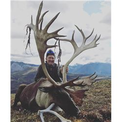 5-day N.W.T. Mountain Caribou Hunt for One Hunter