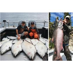 4-day/5-night Alaska Fresh/Saltwater Fishing Package for Four Anglers