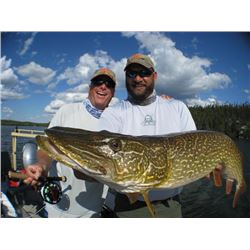 4-day Sask. Northern Pike, Lake Trout, Arctic Grayling and Walleye Fishing Trip for Two Anglers