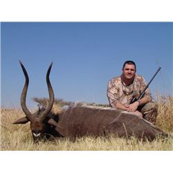 7-day South Africa Spiral Horn Hunt for Two Hunters and Two Observers