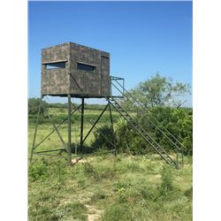 5x9, 10-ft. Atascosa/Bushlan Blind w/luxury package
