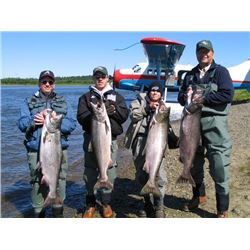 6-day Alaska Rainbow Trout, Char and Salmon Fishing Trip for One Angler
