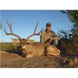 6-day Mexico Desert Mule Deer Hunt for Two Hunters