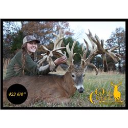 3-day/4-night Missouri White-tailed Deer Hunt for One Hunter and One Observer
