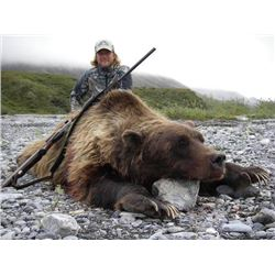 7 or 5-day Alaska Interior Grizzly Bear Hunt for One Hunter