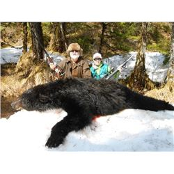 7-day Alaskan Yacht-Based Black Bear Hunt and Rifle Package for One Hunter and One Non-hunter