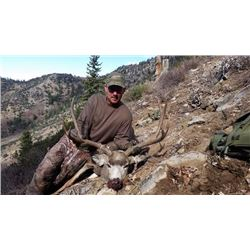 5-day Utah Archery Rocky Mountain Elk and Mule Deer Hunt for One Hunter and One Observer