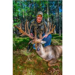 4-day Michigan Presidential White-tailed Deer Hunt for One Hunter and One Observer