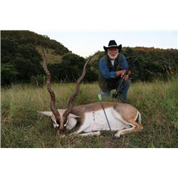 3-day Texas Blackbuck and Wild Boar Hunt for One Hunter and One Observer