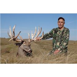 3-day Saskatchewan White-tailed Deer Hunt for One Hunter