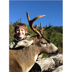 5-day Alaska Sitka Blacktail Deer Hunt for One Hunter